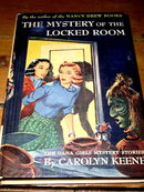 Dana Girls Book, The Mystery of the Locked Room