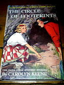 Dana Girls Book, The Circle of Footprints