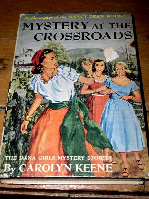 Dana Girls Book, Mystery at the Crossroads