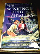 Dana Girls Book, The Winking Ruby Mystery