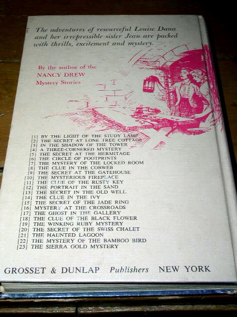Dana Girls Book, The Winking Ruby Mystery