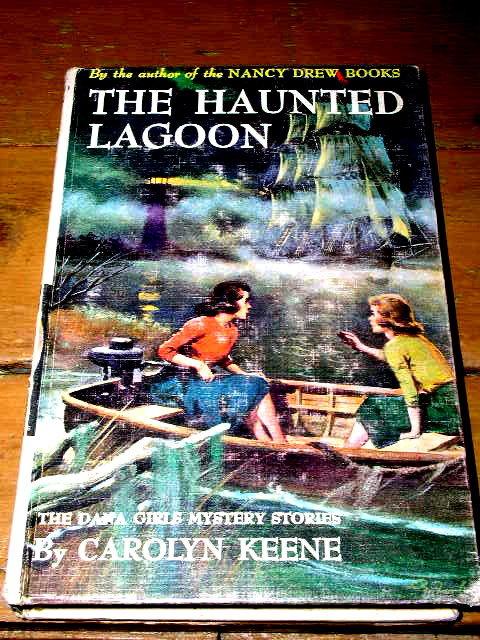 Dana Girls Book, The Haunted Lagoon
