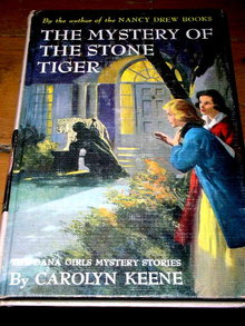 Dana Girls Book, The Mystery of the Stone Tiger