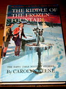 Dana Girls Book, The Riddle of the Frozen Fountain
