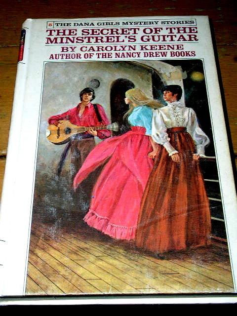 Dana Girls Book, The Secret of the Minstrel's Guitar