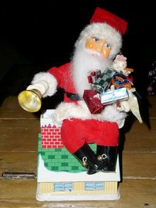 Santa Bank, Battery and Coin Operated