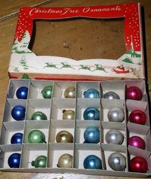 Mini Christmas Ornaments, Bx/24