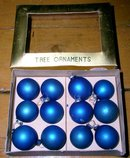 Mini Christmas Ornaments, Bx/12