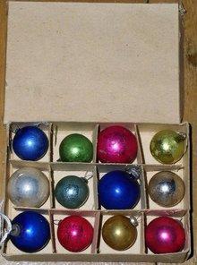 Mini Christmas Ornaments, Bx/12