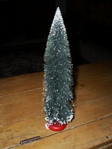 Bottle Brush Christmas Tree