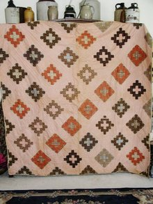 Criss Cross Pattern Quilt  - QLT