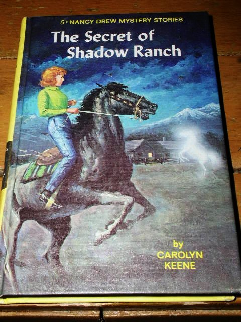 Nancy Drew,  The Secret of Shadow Ranch book