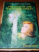 Nancy Drew,  The Sign of the Twisted Candles book