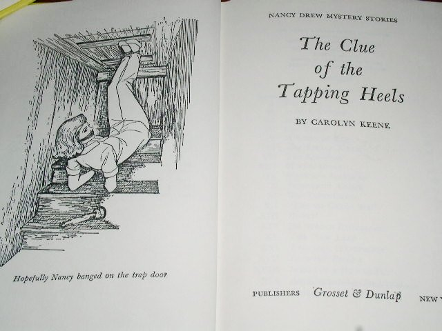 Nancy Drew,  The Clue of the Tapping Heels book