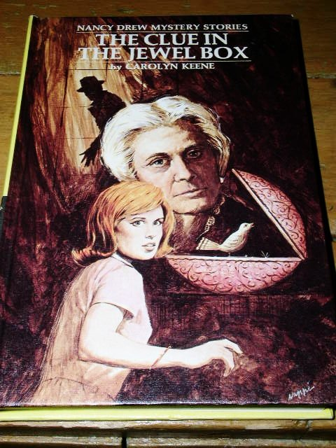 Nancy Drew,  The Clue in the Jewel Box book