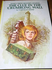 Nancy Drew,  The Clue in the Crumbling Wall book