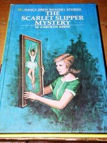 Nancy Drew,  The Scarlet Slipper Mystery book