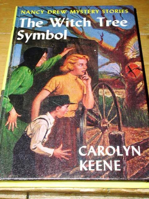 Nancy Drew,  The Witch Tree Symbol book