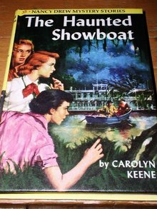 Nancy Drew,  The Haunted Showboat book