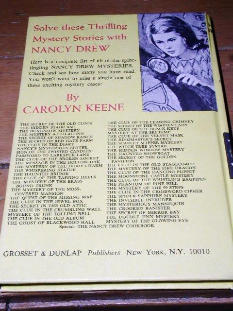 Nancy Drew,  The Haunted Showboat book