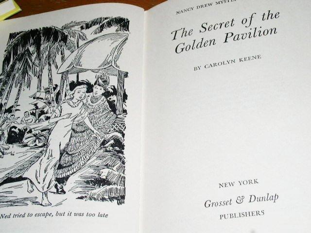 Nancy Drew,  The Secret of the Golden Pavilion  book