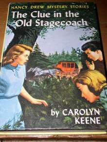 Nancy Drew,  The Clue in the Old Stagecoach  book