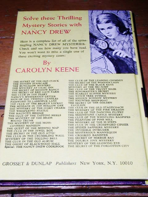 Nancy Drew,  The Clue in the Crossword Cipher  book