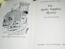 Nancy Drew,  The Spider Sapphire Mystery   book