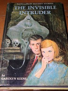 Nancy Drew,  The Invisible Intruder   book