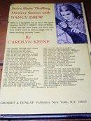 Nancy Drew,  The Invisible Intruder   book