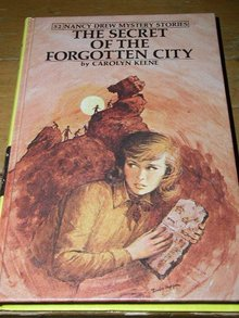 Nancy Drew,  The Secret of the Forgotten City  book
