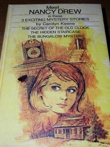 Nancy Drew,  Secret of the Old Clock, Hidden Staircase, Bungalow Mystery  book