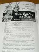 Brer Rabbit's Modern Recipes for Modern Living Cookbook  -  CK