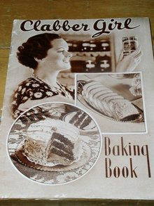 Clabber Girl Baking Book Cookbook  -  CK