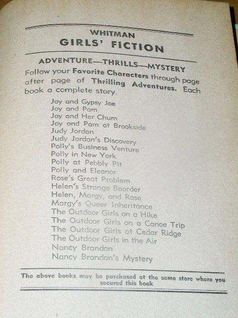 The Blythe Girls, Helen's Strange Boarder Book