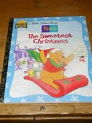 Pooh,  The Sweetest Christmas  -  Little Golden Book