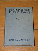 Marjorie's Busy Days Book