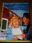 Nancy Drew,  Nancy's Mysterious Letter  Book