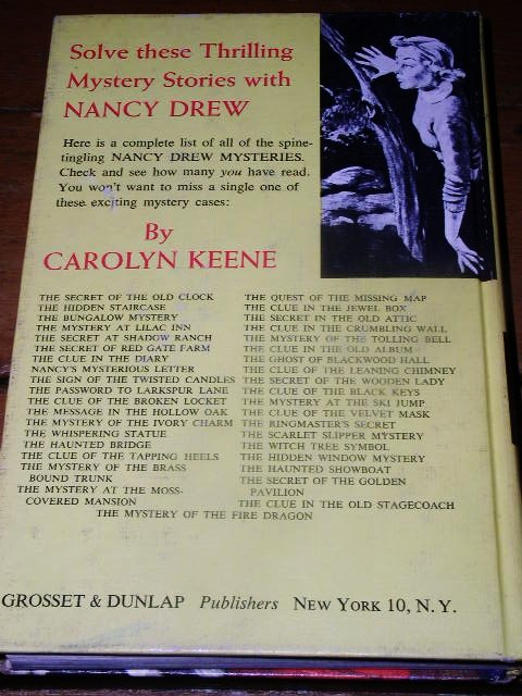 Nancy Drew,  The Mystery of the Brass Bound Trunk  Book