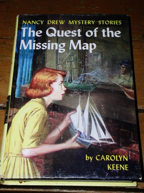 Nancy Drew,  The Quest for the Missing Map  Book