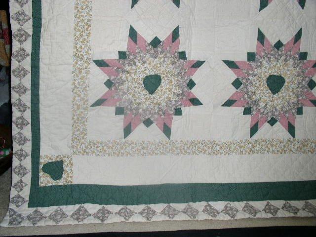 Star Pattern Quilt   QLT
