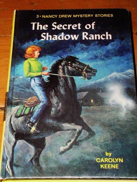 Nancy Drew,  Secret of Shadow Ranch Book