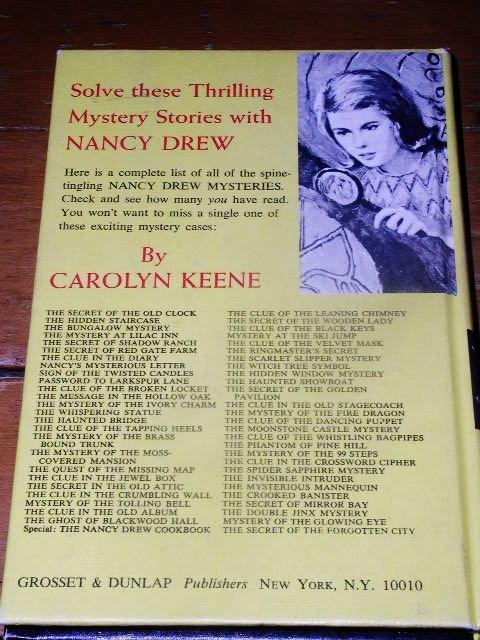 Nancy Drew,  Double Jinx Mystery  Book