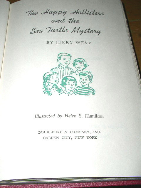 The Happy Hollisters and the Sea Turtle Mystery Book
