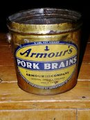 Armour's Pork Brains Tin