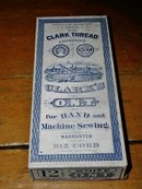 Clark Thread Company Box and Thread