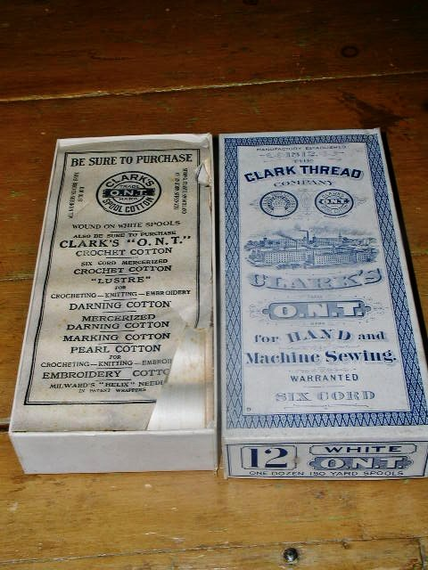 Clark Thread Company Box and Thread