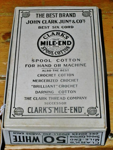 John Clark Junr & Co's Thread Box