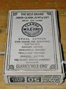 John Clark Junr & Co's Thread Box