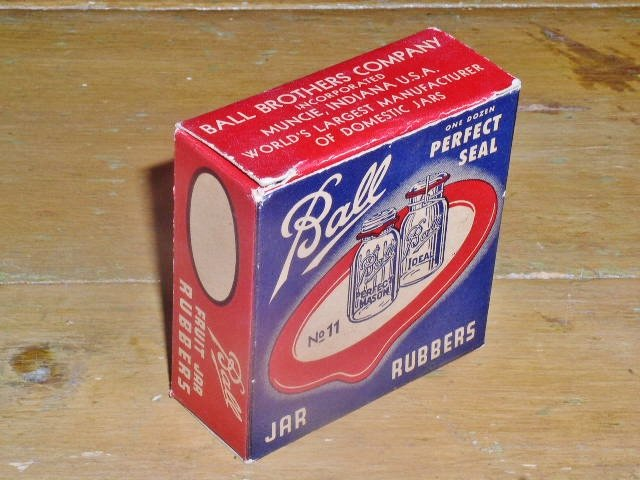 Ball Jar Rubbers Box,